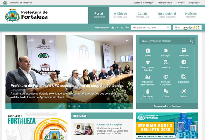 Inscrição Matrícula Online Fortaleza CE 2021