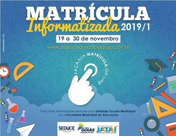 Matrícula Informatizada Goiás