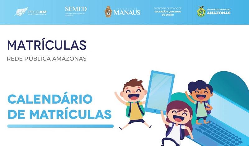 Calendário da Matrícula Manaus