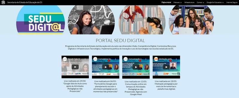 Portal SEDU Digital