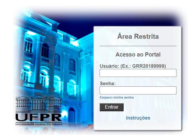 Como Acessar o Portal do Aluno UFPR