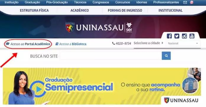 Portal do Aluno Uninassau 2021